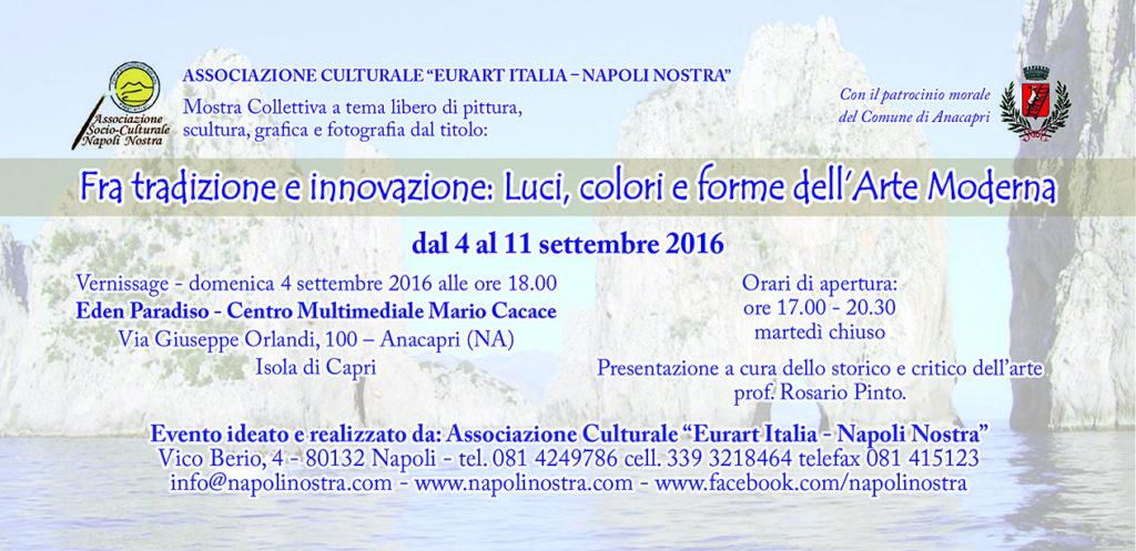Invito mostra capri 2016